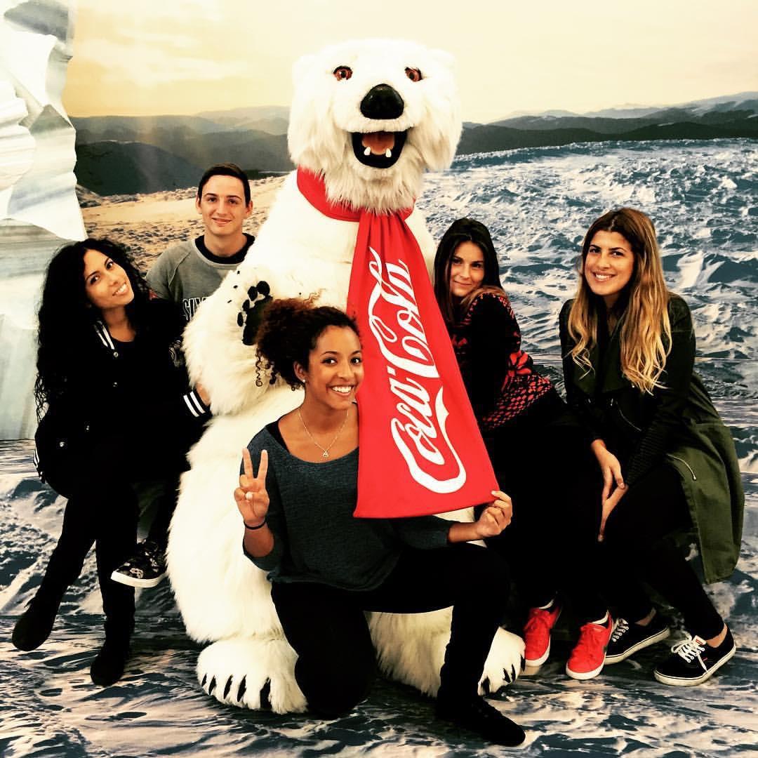 bear coca cola