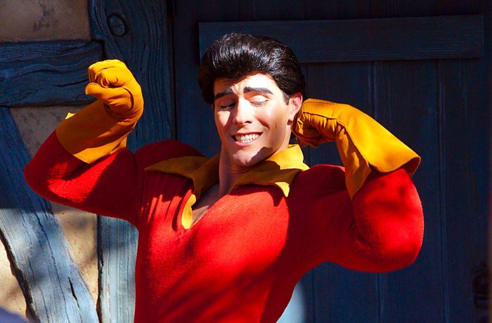 Gaston Character, Fantasyland, Magic Kingdom